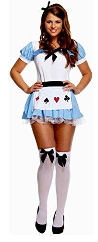 TrendyFashion Damen Kleid Neon Rainbow Socks