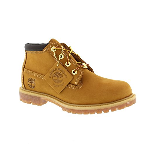 Timberland, Af Nellie Dble Wheat Yellow, Stivali, Donna Marrone