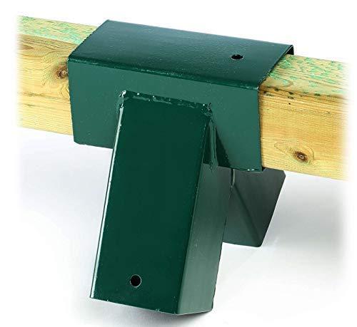 Schaukelverbinder (1 Stück) grün für Vierkantholz 9x9 cm Schaukel selber Bauen von Gartenpirat®