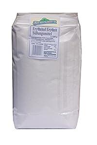 Erythrit, Erythritol - Süßen ohne Kalorien, 1,2 kg (1200g) im OPP Beutel