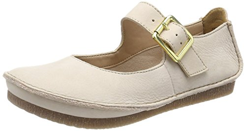 Clarks Damen Janey June Riemchenballerinas