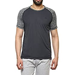 Proline Mens Solid Regular Fit Active Base Layer Shirt (PA025_De_Medium)