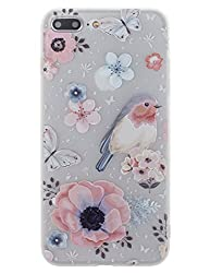 Bonamart Iphone 7 Plus Hülle Blumen, Iphone 8 Plus Hülle Blumen, Iphone 8 Plus Hülle, Iphone 7 Plus Hülle