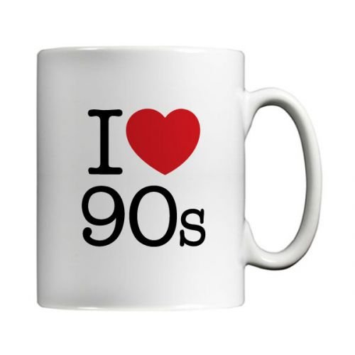 I Love 90s Mug by MugBug in a gift box