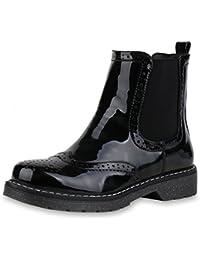 separation shoes 5b12b a31ef Suchergebnis auf Amazon.de für: Schwarze Lack Stiefeletten ...