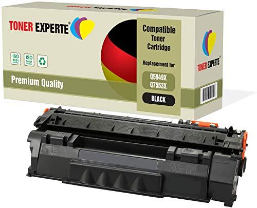 TONER EXPERTE® Premium Toner kompatibel zu Q5949X Q7553X für HP Laserjet 3390 3392 1320 1320n 1320tn 1320nw M2727nf M2727nfs MFP P2014 P2015 P2015d P2015dn P2015x -