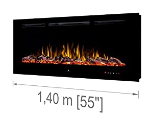 Noble Flame Paris 1400 [Electric Fireplace Wall Installation / Wall-Mounted]