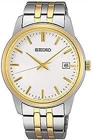 Seiko Quartz Stainless Steel Watch for Men SUR402P