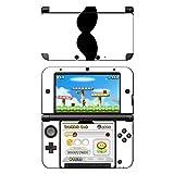 Disagu SF-104164_809 Design Skin für Nintendo 3DS XL - Motiv Moustache white klar