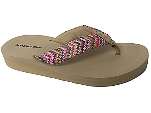 Foster Footwear ,  Mädchen Damen Jungen Durchgängies Plateau Sandalen Beige