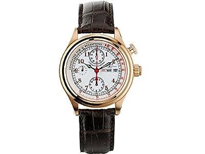 Ball Trainmaster Doctor's Chronograph Watch, White, Crocodile band, Lim.Edition