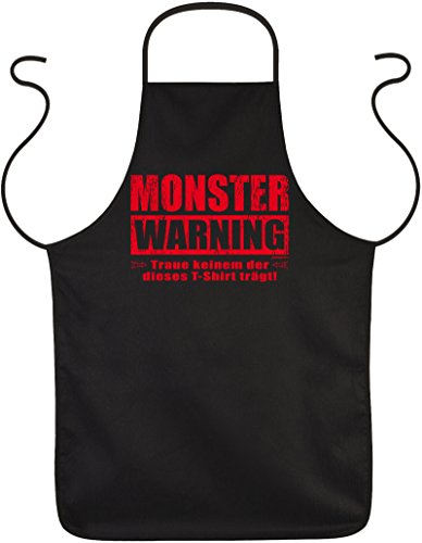 ze für Halloween - Monster Warning - Gruseliger Kittel ()