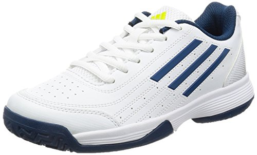 adidas Sonic Attack K, Zapatillas de Tenis para Niños, Blanco (Ftwbla/Acetec/Plamat), 36 2/3 EU