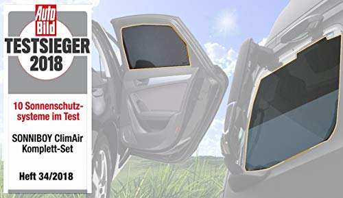 Sonnenschutz (Sonniboy) für die Autoscheiben – CLI10059ABC