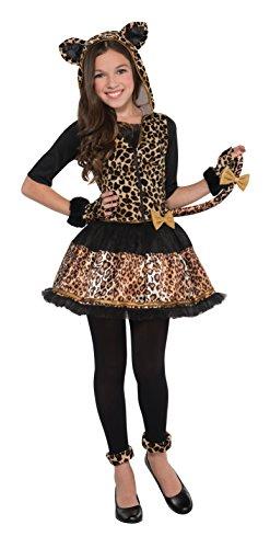 Christy's - costume leopardato per travestimento audace, a pois, per ragazza, 14-16 anni