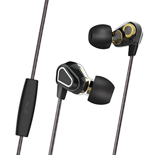 Auricolari-Doppio-Driver-Morpilot-Auricolari-Controllo-Basso-Rumore-con-Microfono-Incorporato-per-tutti-i-jack-di-35mm-Auricolari-per-Telefoni-iPhone-e-Android-ideale-per-il-fitness-Gara-sportiva-Jogg