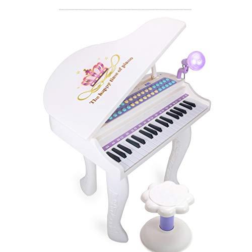 Lipeng-toy tastiera per bambini piano per pianoforte per principianti 3-6-12 anni può suonare grandi tasti per pianoforte (colore : bianca)