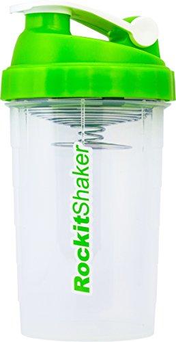 RockitShaker - 750ml - Made in Germany - 100% dicht - bestes Mischsystem weltweit - Shaker für Fitness, Bodybuliding, Sport, CrossFit - Eiweiss Shaker, Protein Shaker