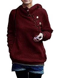 Amazon.fr   Rouge - Sweats à capuche   Sweats   Vêtements ac59fcad4094
