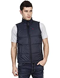 Ojass Sleeveless Solid Men's Jacket
