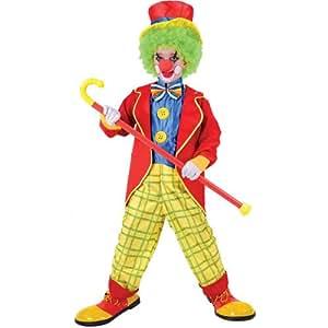 Lustiger Zirkus Clown Verkleidung für Jungen Karneval