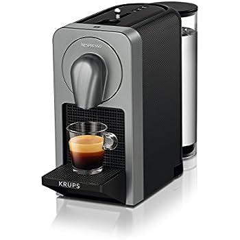 Nespresso Prodigio XN410T Cafetera de cápsulas de 19 bares ...