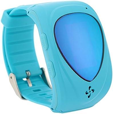 KKmoon Smartwatch GPRS GPS Localizador Tracker para Niños Bebés Reloj de Pulsera Anti Perdido Compatible con Smartphone iOS Android