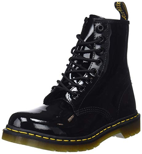 Dr. Martens Damen 1460 Patent-11821011 Boots, Schwarz, 36 EU (3 Damen UK)