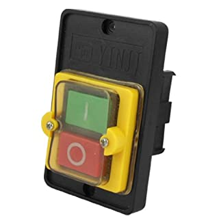 Sourcingmap AC 220/380V ON/Off Water Proof Push Button Switch KAO-5