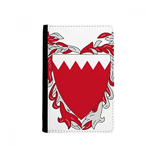 beatChong Manama Bahrain National Emblem-Pass-Halter Travel Wallet Abdeckungs-Fall Karten-Geldbeutel - Karte Bahrain Von
