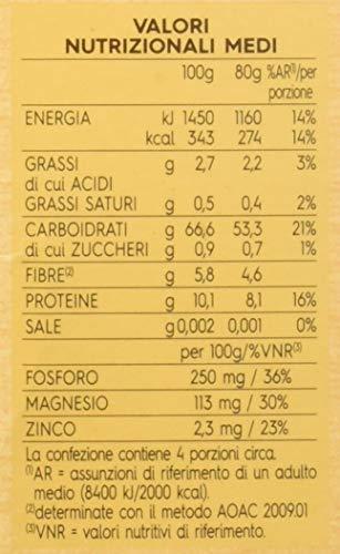 Barilla Mix di Cereali e Quinoa, Senza Glutine, Ricco di Proteine e Fibre - 320 gr