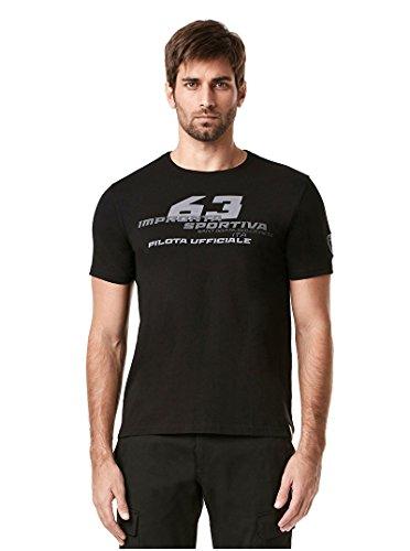 NEU. Lamborghini Impronta SPORTIVA # 63Herren T-Shirt Official Merchandise, schwarz - Lamborghini-shirt