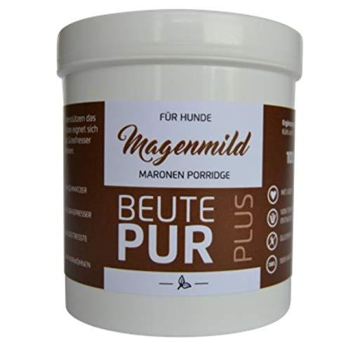 Carnisano Beute Pur Magenmild Maronen Porridge für Hunde bei Schmatzen, Stress