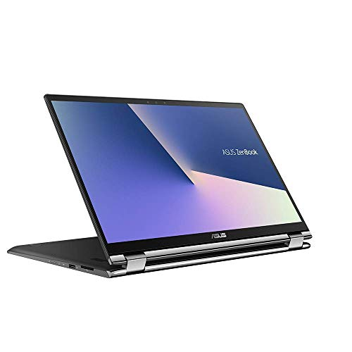 ASUS ZenBook Flip 15 UX562FD (90NB0JS1-M01230) 39,6 cm (15,6 Zoll, FHD, WV, Touch) Convertible (Intel Core i5-8265U, 16GB RAM, 256GB SSD, NVIDIA GeForce GTX 1050 Max Q (2GB), Windows 10) Grey