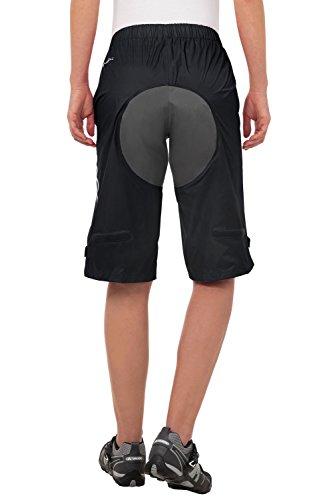 VAUDE Damen Hose Tremalzo Rain Shorts black