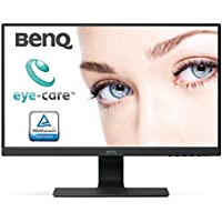 BenQ GW2480 60,45cm (23,8 Zoll) LED Monitor (Full-HD, Eye-Care, IPS-Panel Technologie, HDMI, DP, Lautsprecher) schwarz