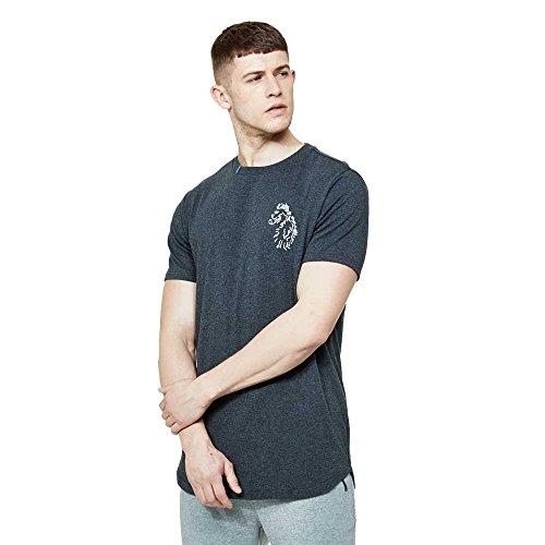 Luke 1977 Bowens T-Shirt Charcoal Marl Charcoal Marl