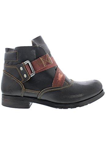 Fly London Mens Sogi 168 Leather Boots Black