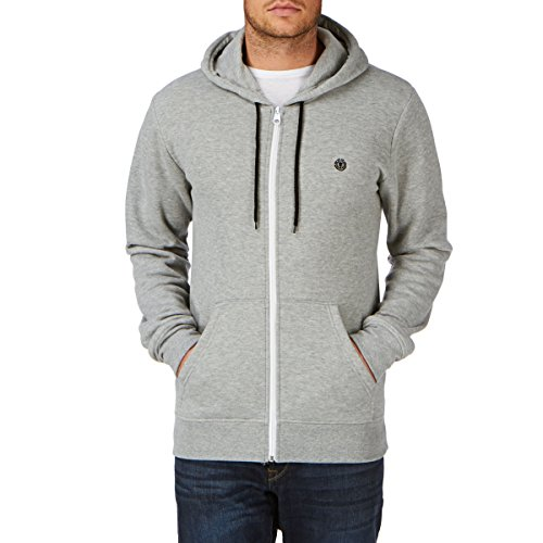 Element Nova ZH Zip Hoodie (dark denim) Grey Heather