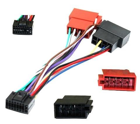 Aerzetix - Adaptateur Z7 ISO câble convertisseur fiche faisceau auto