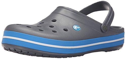Crocs  crocband,  sabot/sandali unisex adulto, grigio (chon), 49 it (48-49 eu)