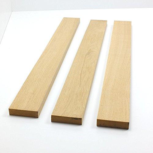 1 Stück Kantel bzw. Riegel gehobelt aus Eiche massiv/diverse Längen 50-180 cm zur Auswahl/Querschnitt 90 x 22mm kammergetrocknet Massiv