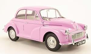 Morris Minor 1000 Saloon, helllila, RHD, 1960, voiture miniature, Miniature déjà montée, Sun Star 1:12