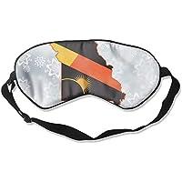 Missouri Map Solar Eclipse 99% Eyeshade Blinders Sleeping Eye Patch Eye Mask Blindfold For Travel Insomnia Meditation preisvergleich bei billige-tabletten.eu