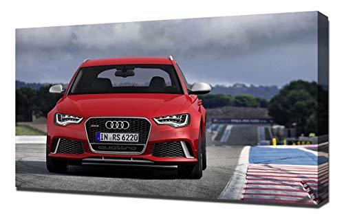 2014-Audi-RS6-Avant-V7-1080 - Stampa Artistica su Tela - Stampa Tela Canvas