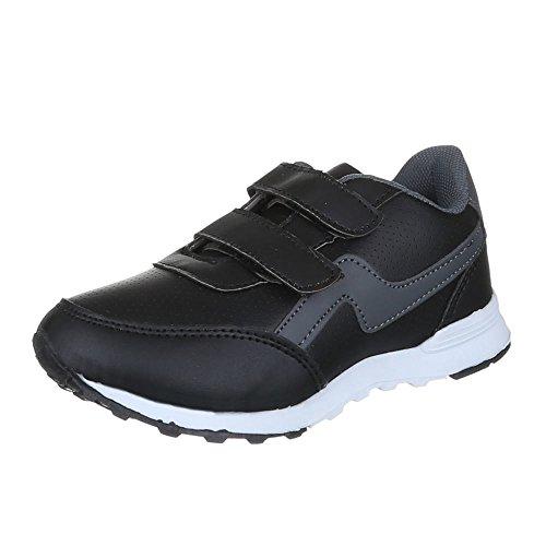 Ital-Design, Sneaker bambini Nero (nero)