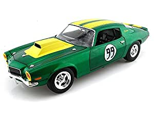 Ertl Cooter's 1970 Chevy Camaro #99 From The Dukes of Hazzard 1/18 Green