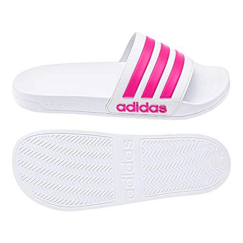 Adidas adilette shower, scarpe da spiaggia e piscina uomo, bianco (blanco 000), 42 eu