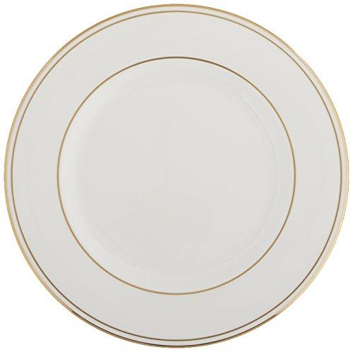 Lenox Federal Gold Porzellan-Tellerservice, 5-teilig Lenox Federal Gold Fine, Essgeschirr Salad Plate weiß Fine Gold Plate