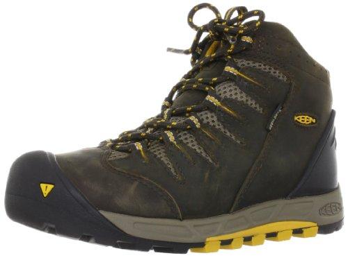 Keen Bryce Mid WP Damen Schuh Boots Trekking Outdoor Freizeit, Schuhgröße:36, Farbe:Gelb (Keen Schuhe Gelb)